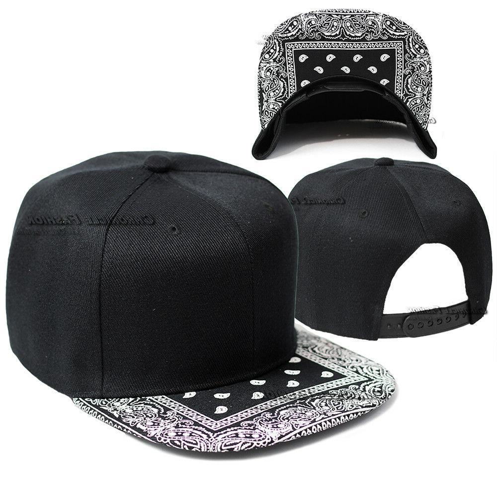 Bandana Baseball Cap Paisley Snapback Adjustable Hat Hip Hop Hats