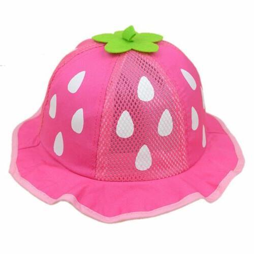 Baby Hat Mesh Sunhat Raindrop Shaped