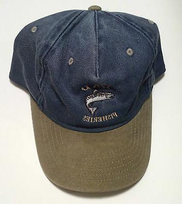 blue fishing hat mens collectors novelty baseball