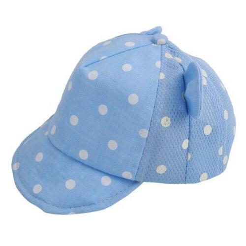 Summer Infant Ear Toddler Baby Boy Cap