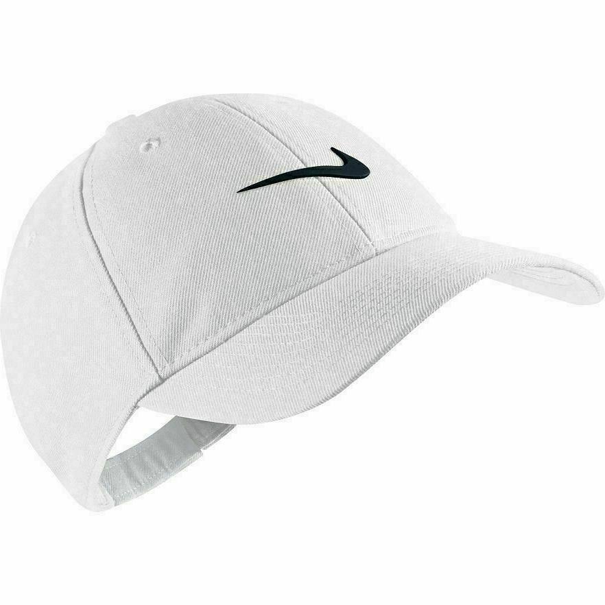 NWT Nike Boys Cap One Size Cotton Blue White