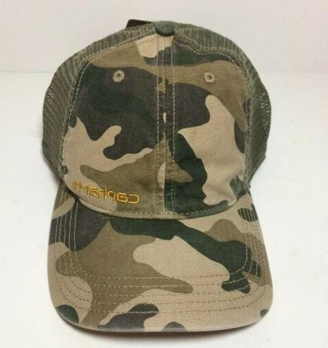 CARHARTT Back Trucker Hat 101194 Green Back