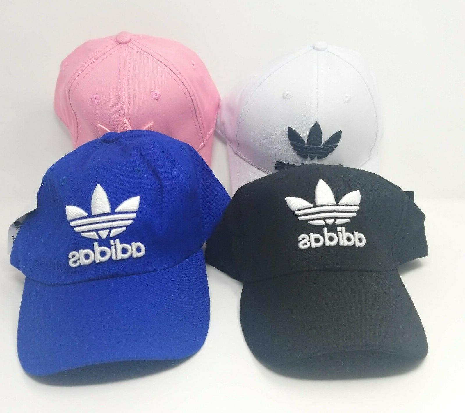 Brand New Adidas Adjustable Size Stripe Baseball