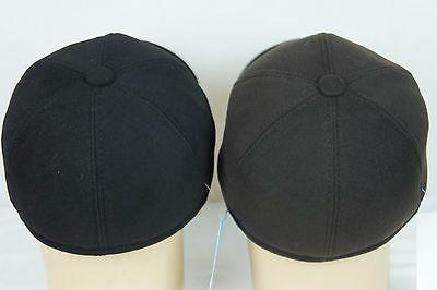 BROWN or Cashmere like BASEBALL TRAPPER EARFLAP CAP HAT NWT