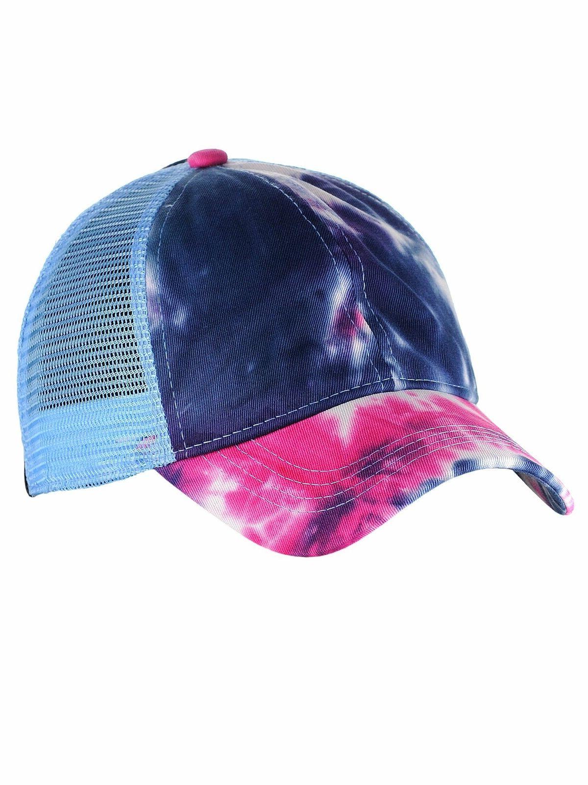 C.C Messy Bun Ponytail Dye Baseball Cap