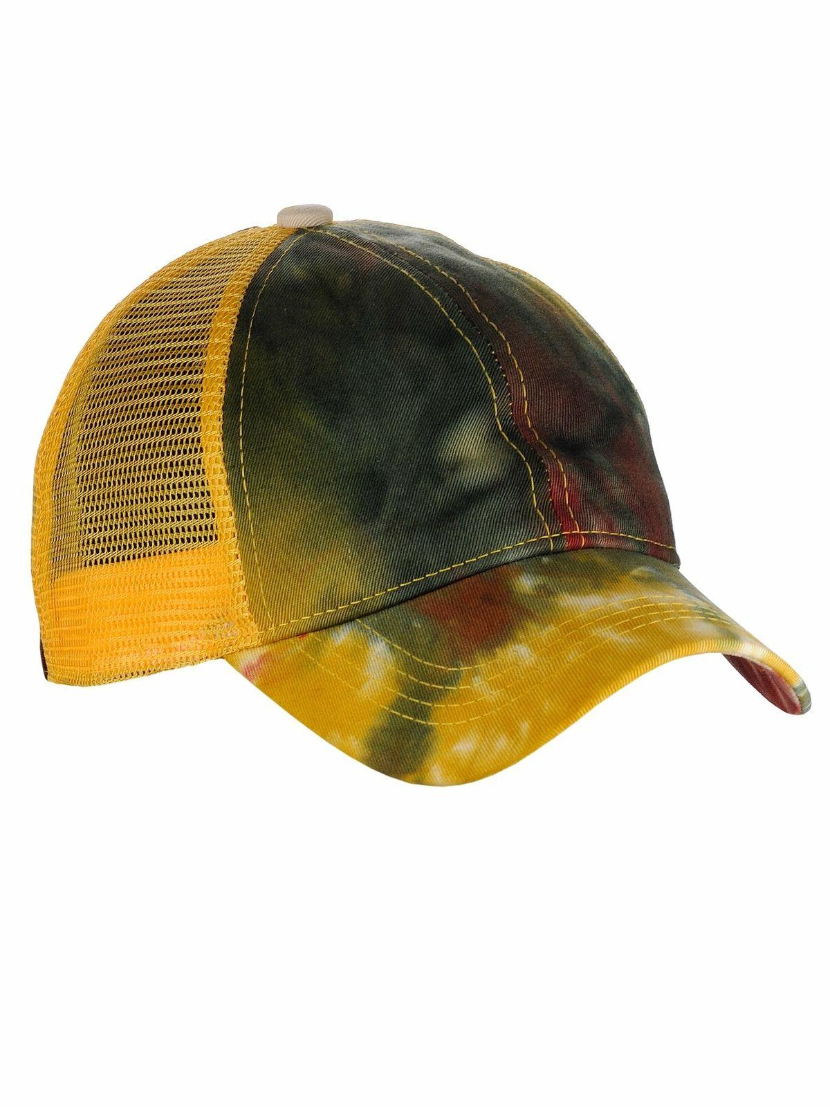 C.C Ponycap Bun Ponytail Adjustable Dye Cap