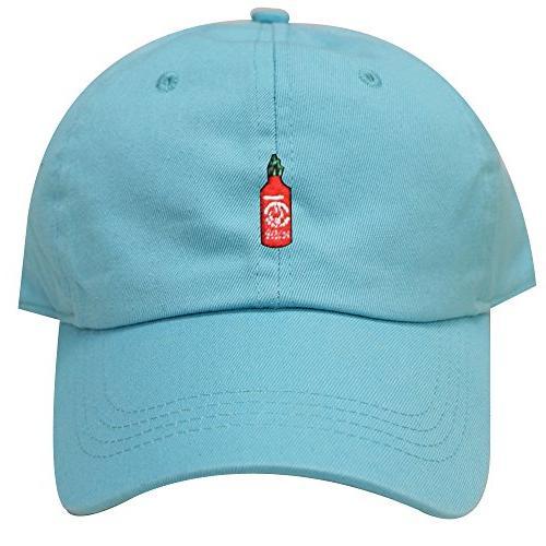 c104 hot sauce cotton baseball dad caps