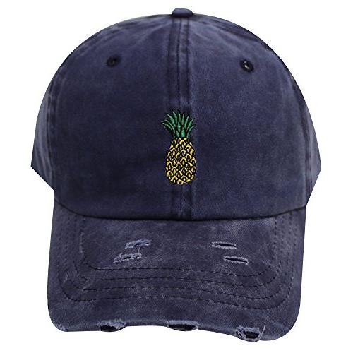 City Hunter Pineapple Cotton Baseball Colors