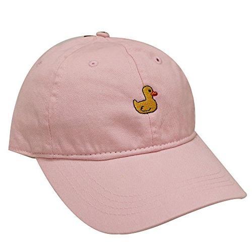 c104 small duck cotton baseball dad caps