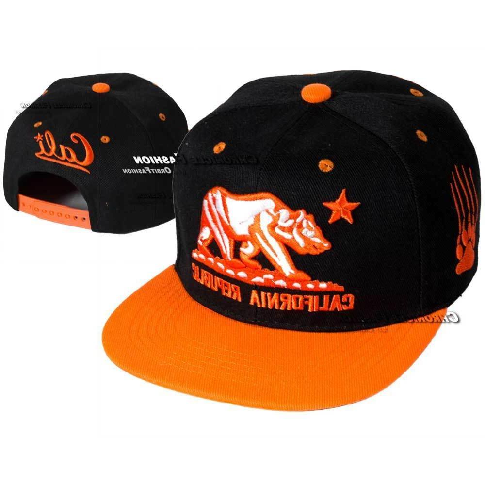 California Republic Hat Cap Snapback Adjustable