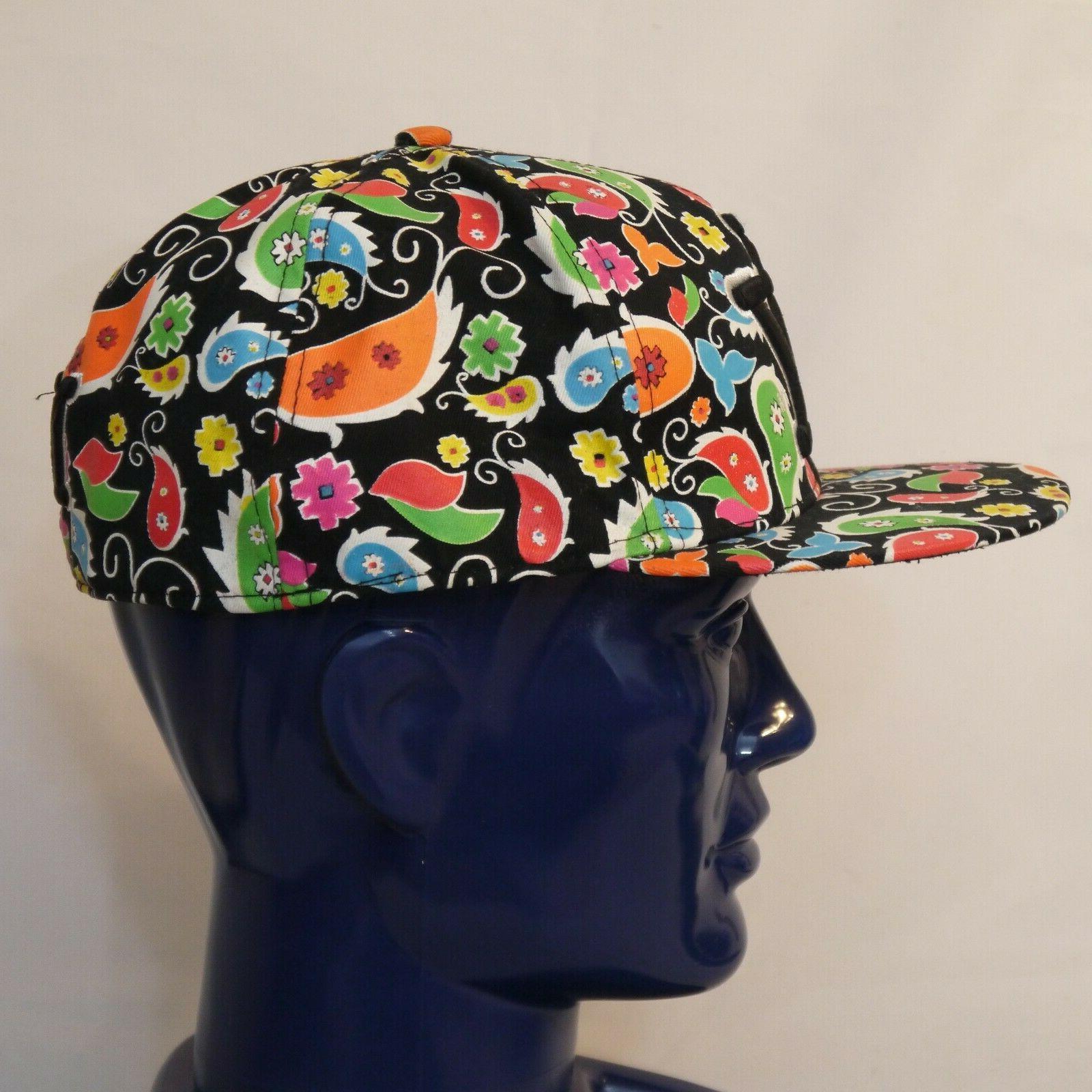 New City Hunter Cap Multicolor Paisley Hat