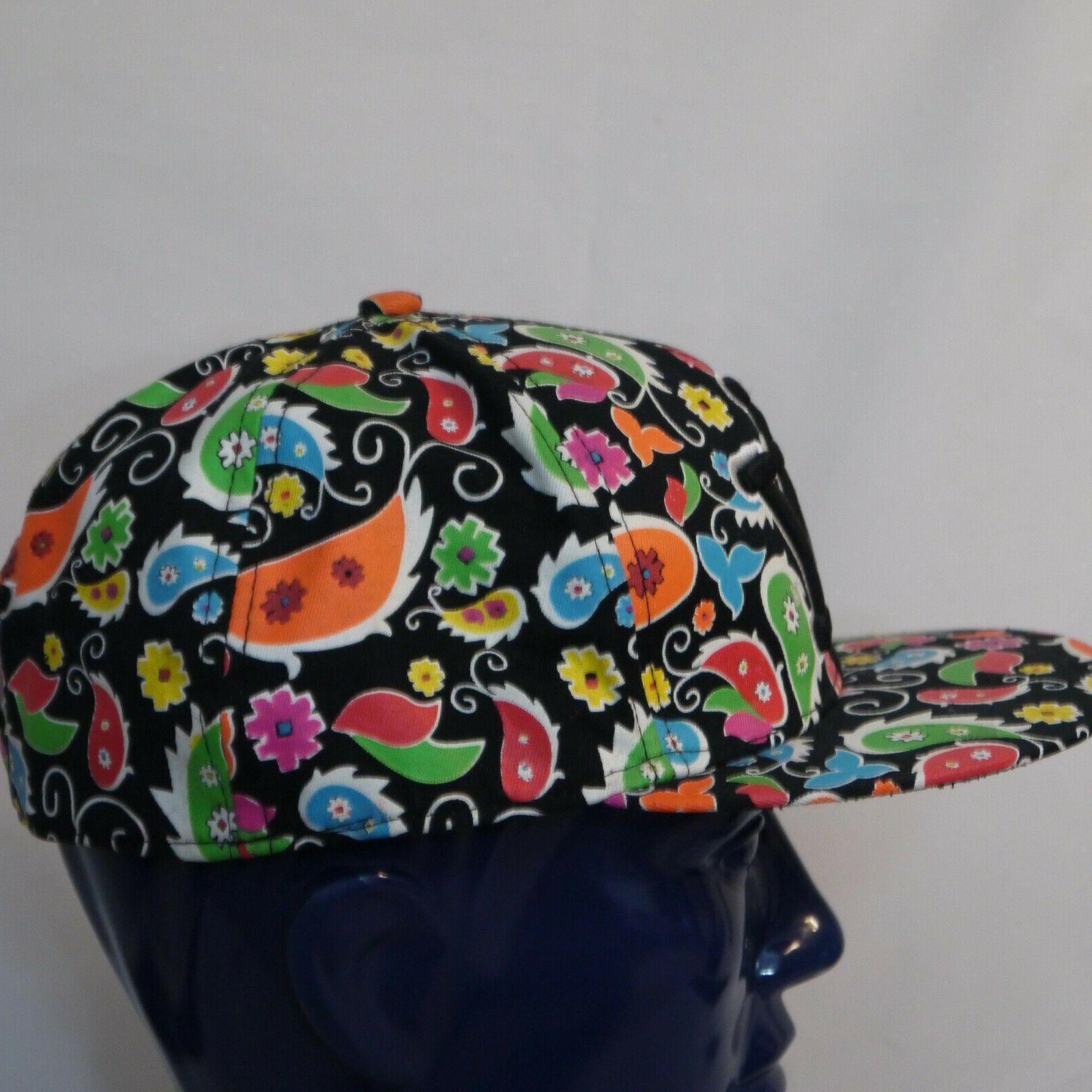 New York City Hunter Cap Baseball Cap 2XL Multicolor Paisley Hat