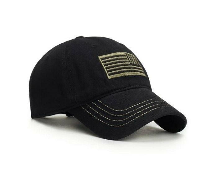 CAP MILITARY ARMY HAT ~ Baseball Golf Outdoor USA