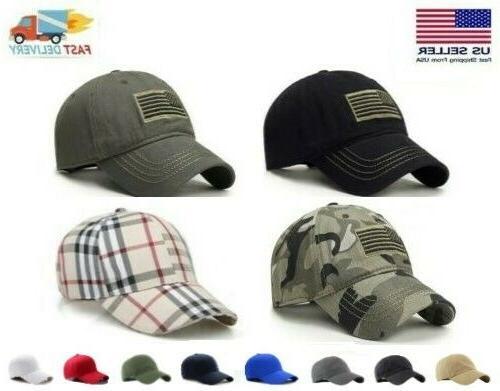 cap military army patrol hat adjustable flag
