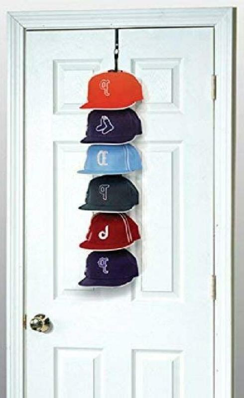 Perfect Curve Cap Rack System 18 – Baseball Cap Organizer