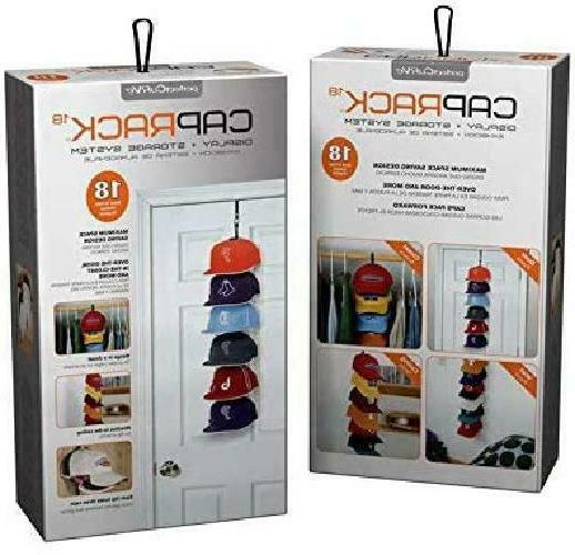 Perfect Cap Rack System Cap Organizer Hold Up