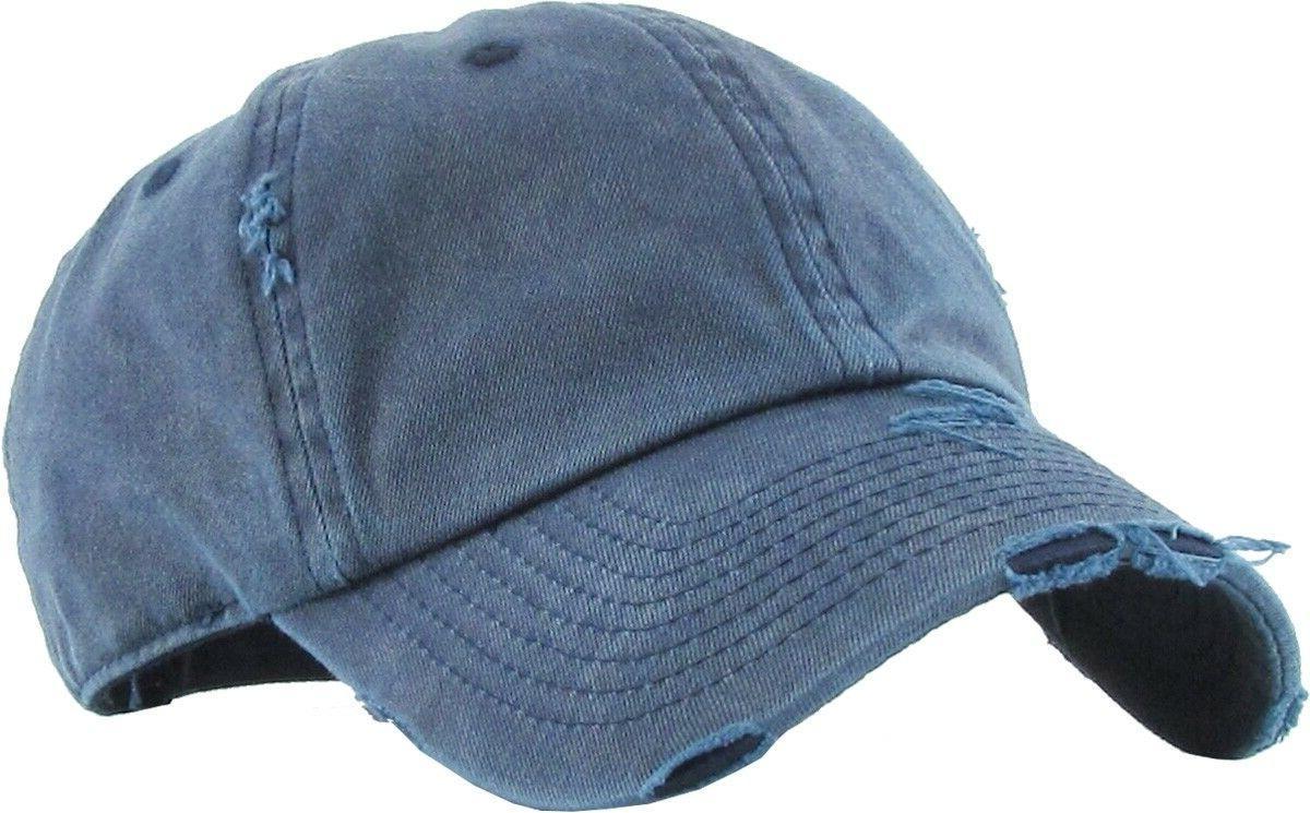 KBETHOS CLASSIC DISTRESSED Adjustable Hat Cotton
