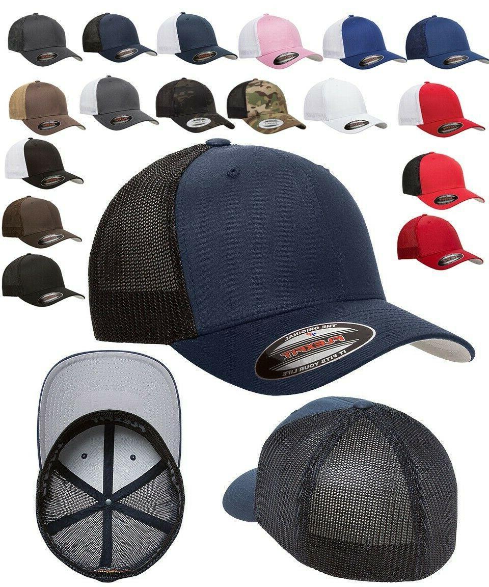 classic trucker 6 panel fitted baseball cap