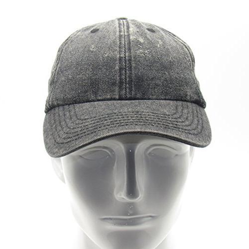 Baseball Cotton Adjustable Washed Low Profile Hat