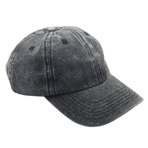 classic unisex baseball cap cotton adjustable washed
