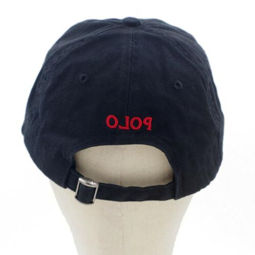 Classic Unisex Polo Embroidered Pony Cap