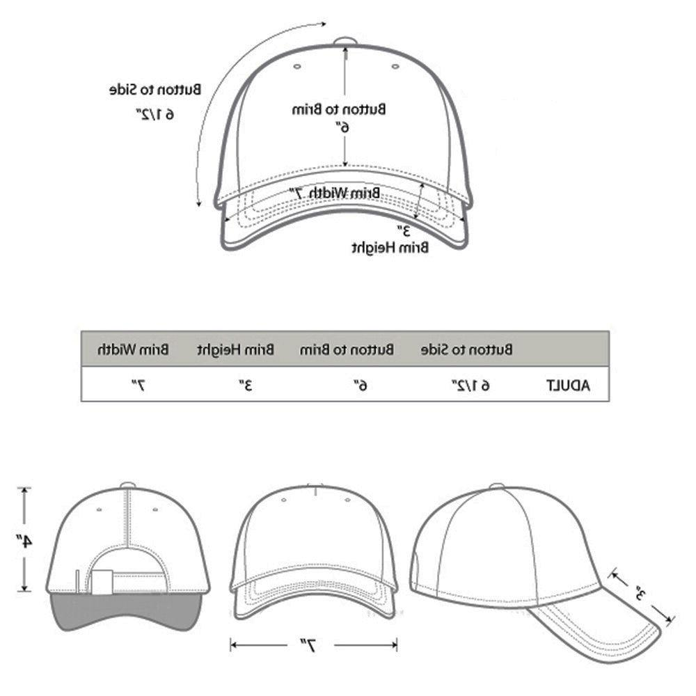 Falari Baseball Cap Cotton Adjustable Polo Style Plain Visor