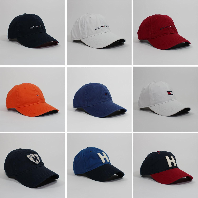 Tommy Hilfiger Cotton Baseball Cap Mens Womens Unisex Hat On