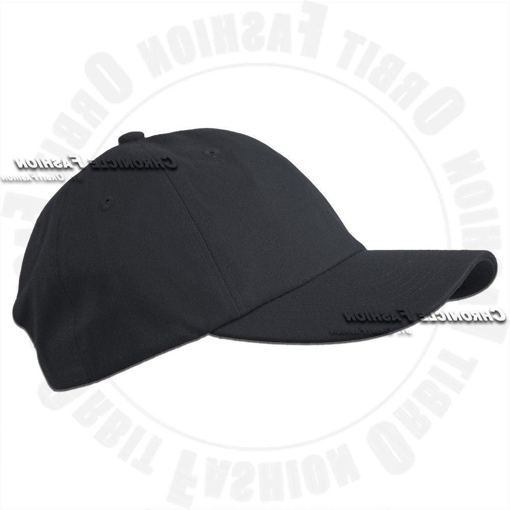 Baseball Polo Style Adjustable Solid Hat Mens Hats