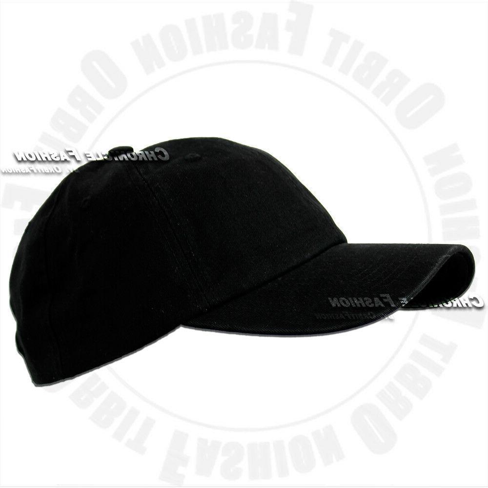 Baseball Hat Style Adjustable Solid Men Hats