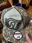 DC Baseball Hat Cap City Hunter XL Fitted Tan Brown vans
