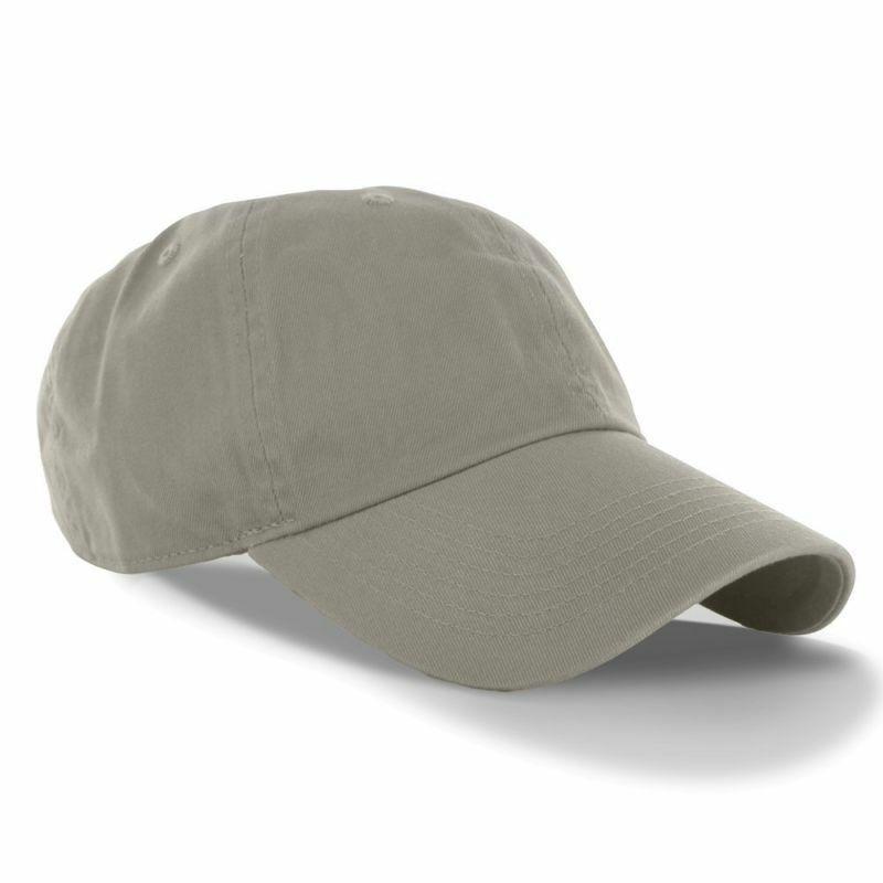 Dealstock Plain 100% Cotton Hat Men Women Adjustable Basebal