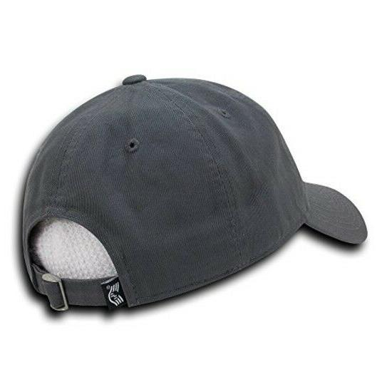 Rapid Embroidered Washed Cotton Cap