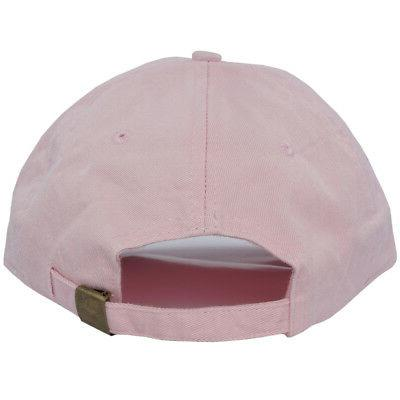 Donut Curved Baseball Emoji City Pink