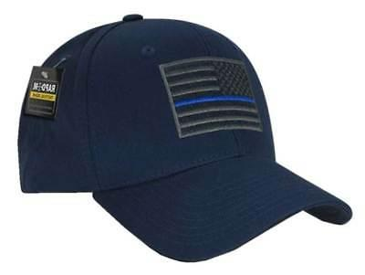 embroid thin line usa flag baseball cap