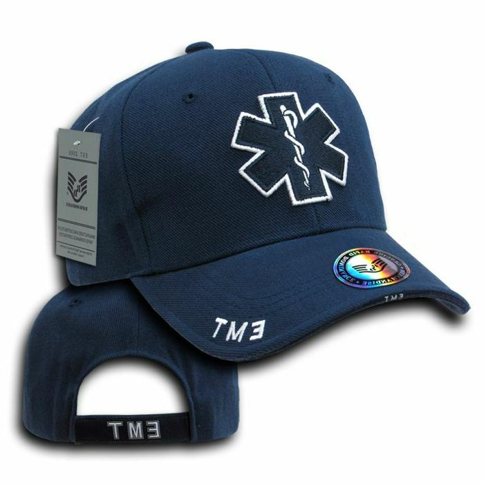 Rapid Embroidered Enforcement Caps Hats