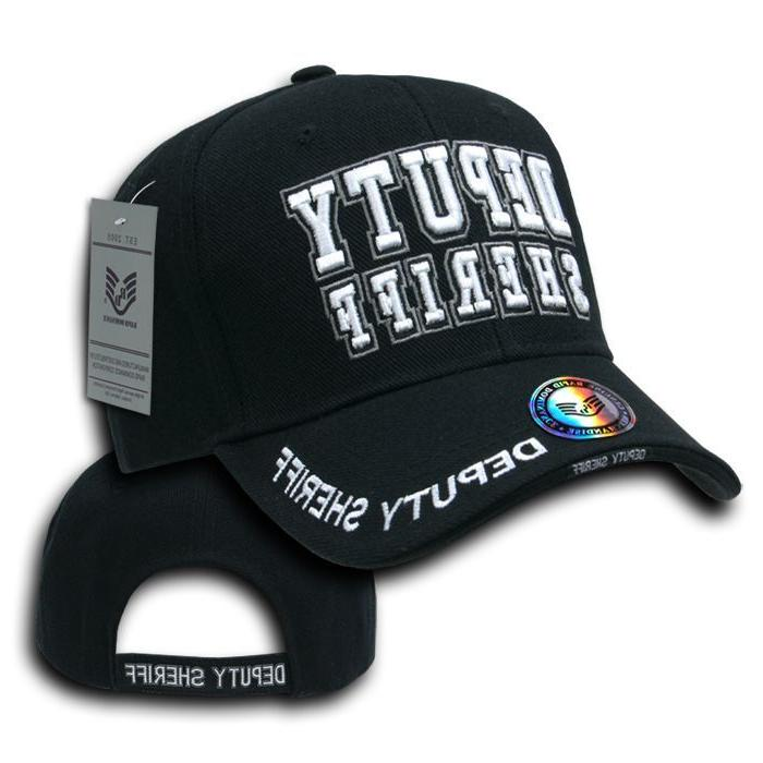 Rapid Embroidered Enforcement Hats