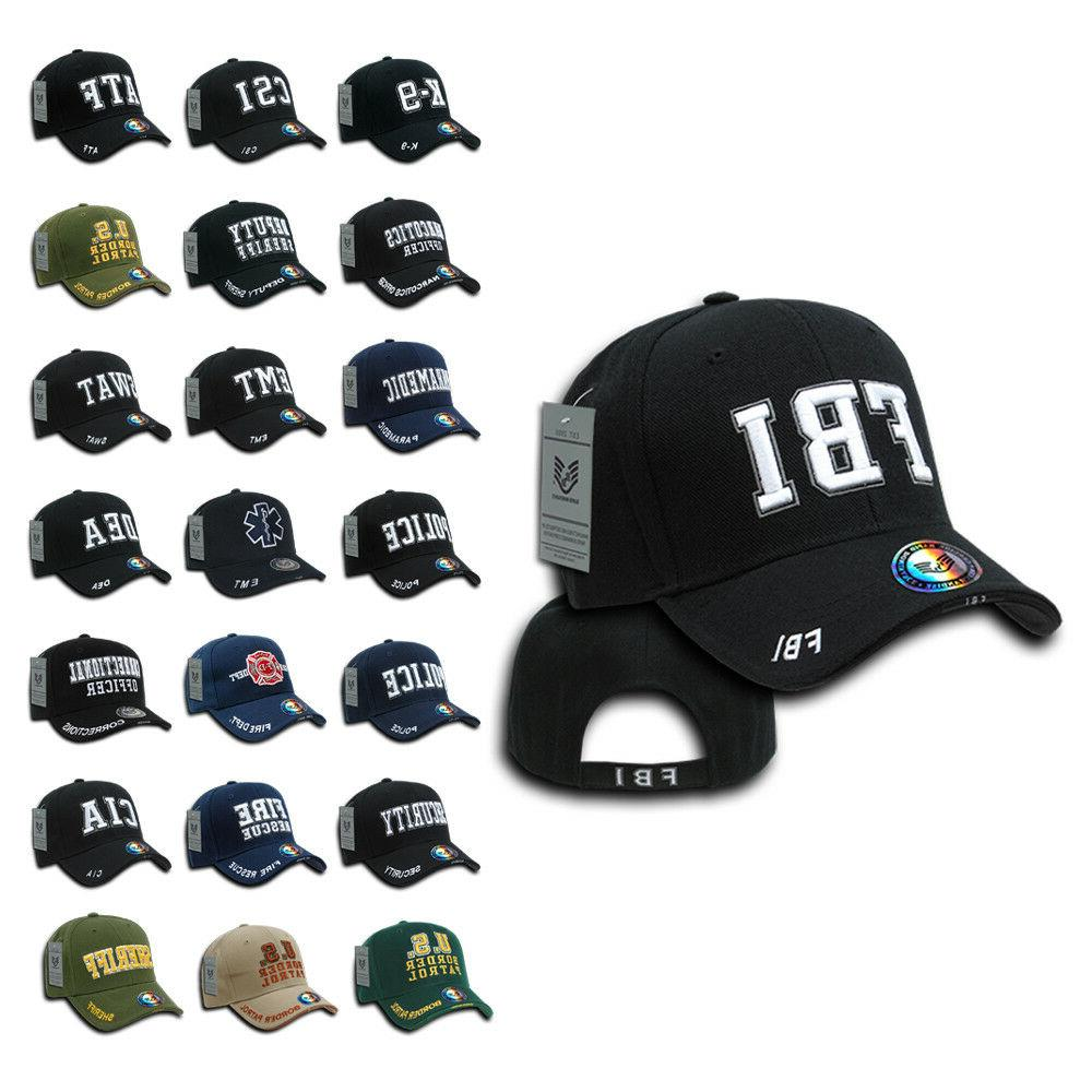 embroidered law enforcement usa baseball caps hats