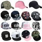 Fashion Adjustable Unisex Hip Hop Bboy Baseball Hat Snapback