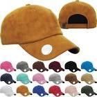 KBETHOS FAUX SUEDE Classic Baseball Caps Dad Hats Adjustable