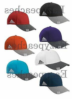 ADIDAS GOLF Hat Mens Adjustable Size Collegiate Heather Base