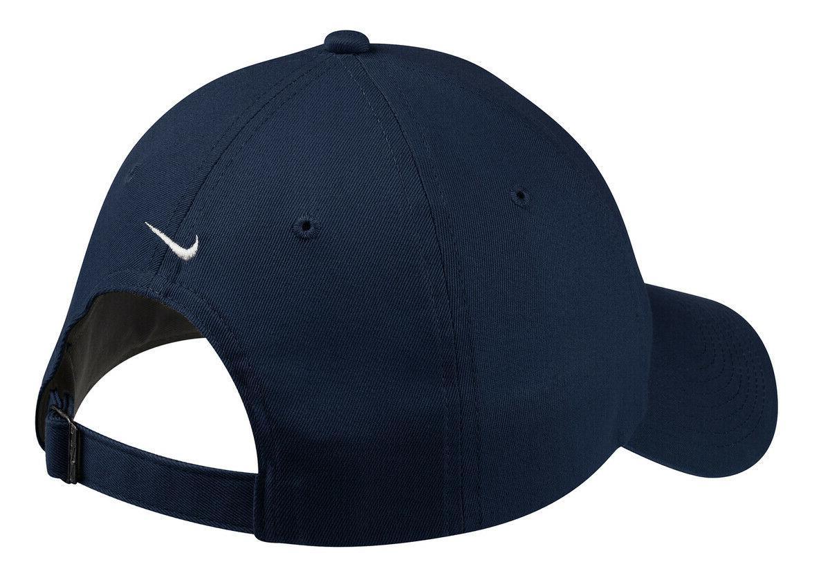 NIKE Heritage SWOOSH Logo Adjustable Baseball Hat New!