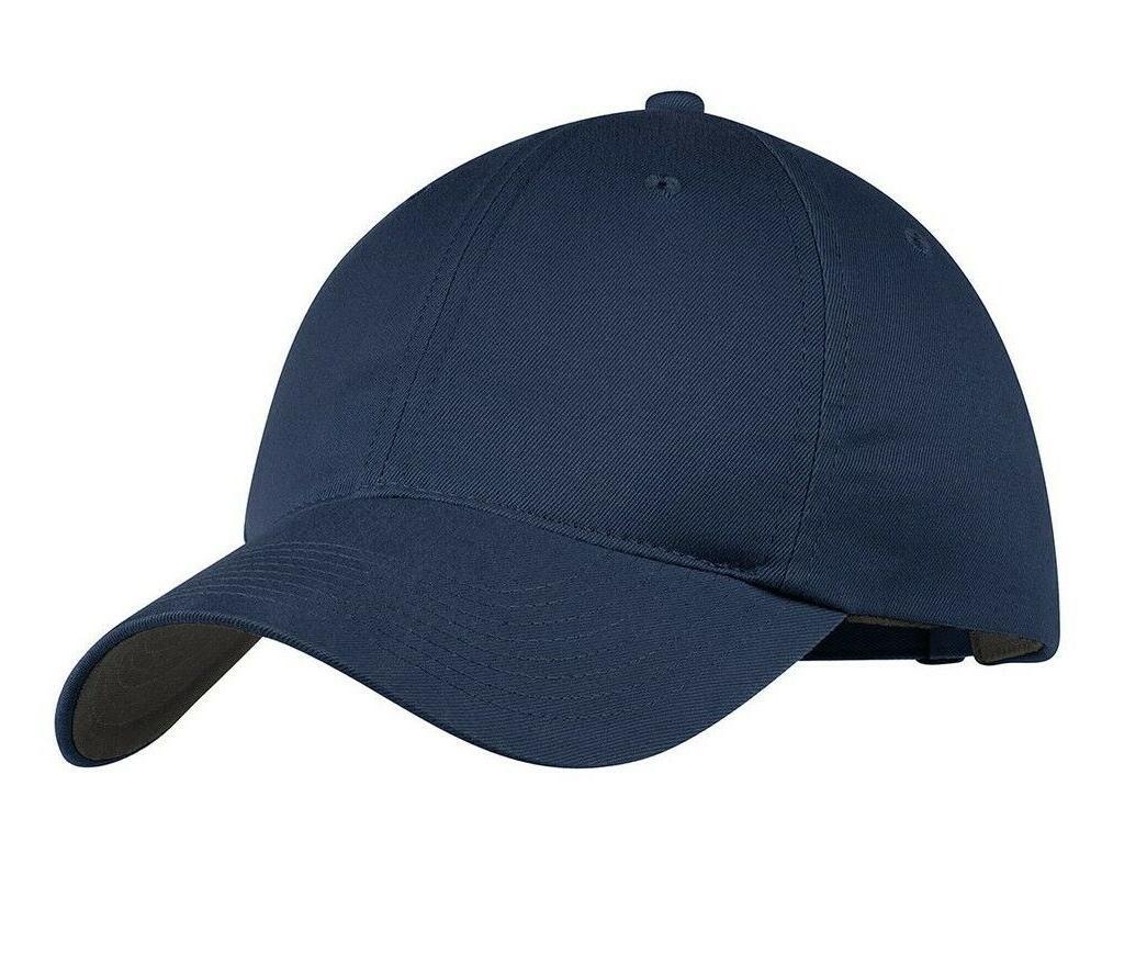 NIKE SWOOSH Logo Adjustable Baseball Cap New!