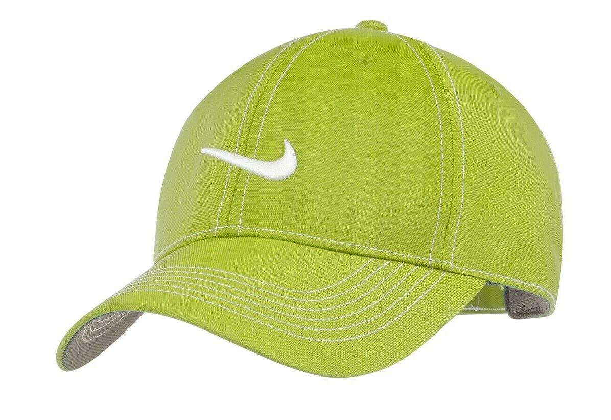 NIKE-GOLF-NEW-Adjustable-Fit-SWOOSH-FRONT-BASEBALL-HAT-CAP-DRI-FIT&POLY