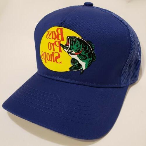 Bass Pro Shops Outdoor Fishing Mesh Cap Adjustable