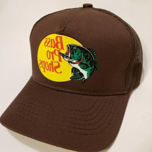 Bass Pro Shops Outdoor Fishing Baseball Trucker Mesh Cap SnapBack