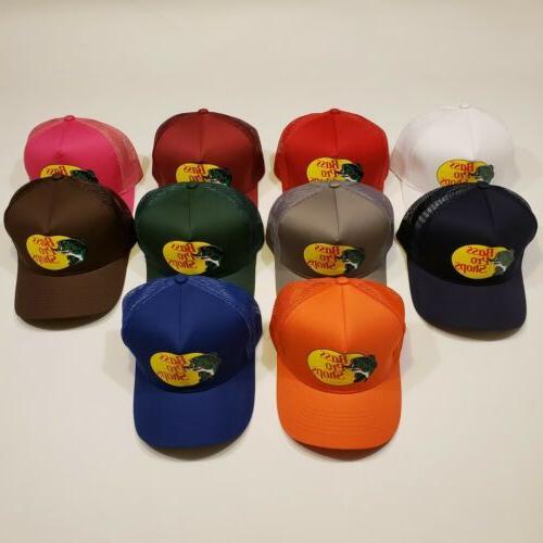 hat outdoor fishing baseball trucker mesh cap