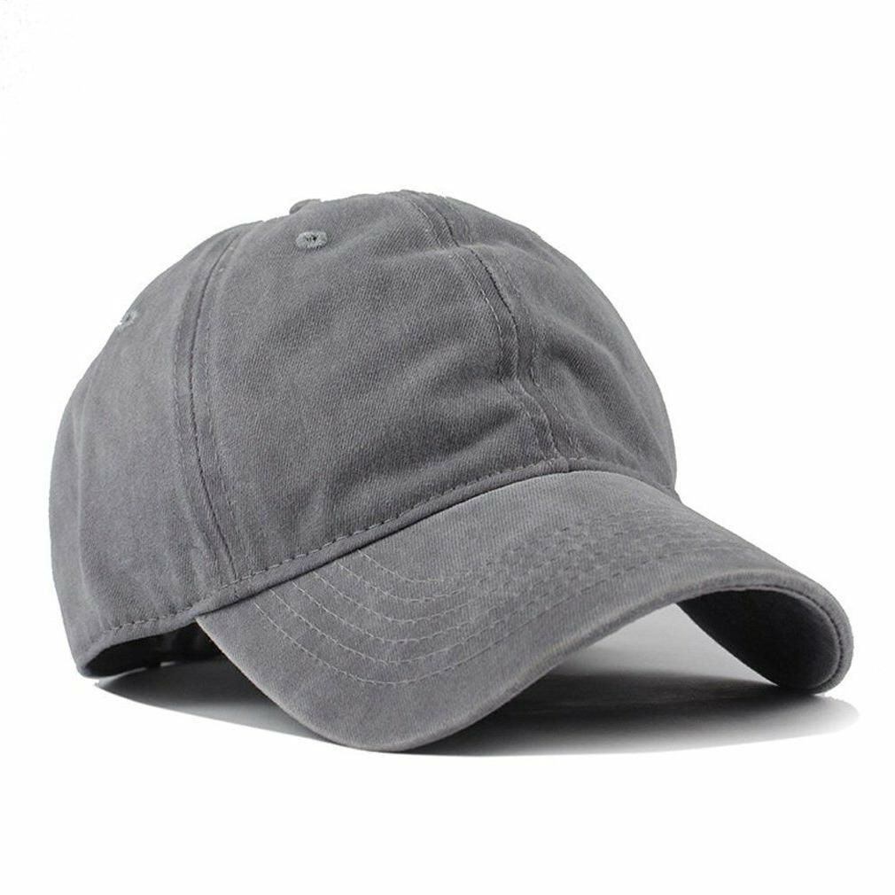 HH HOFNEN Unisex Washed Twill Cotton Baseball Cap Vintage Ad