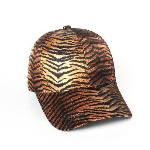 HOT Summer Men Women Unisex Leopard Snake Skin Peaked Cap Hip Hop <font><b>Hat</b></font>