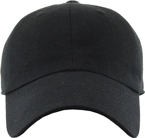 KB-LOW Cap. Profile Black Adjustable