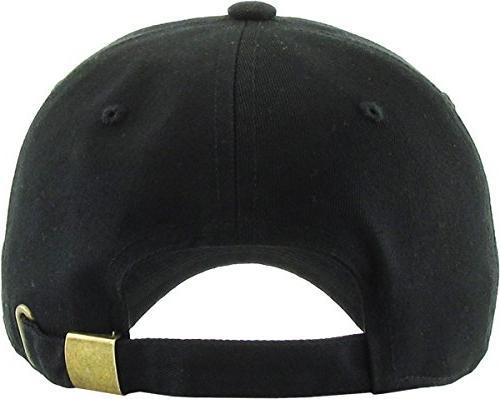 KB-LOW Dad Adjustable Cap. Polo Profile Adjustable